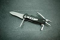Мультиинструмент Totem 8004 нож, отвёртка, плоскогубцы, консервный нож, фонарь