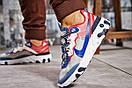 Кроссовки мужские Nike React, синие (15393) размеры в наличии ► [  41 42 43 44  ], фото 4