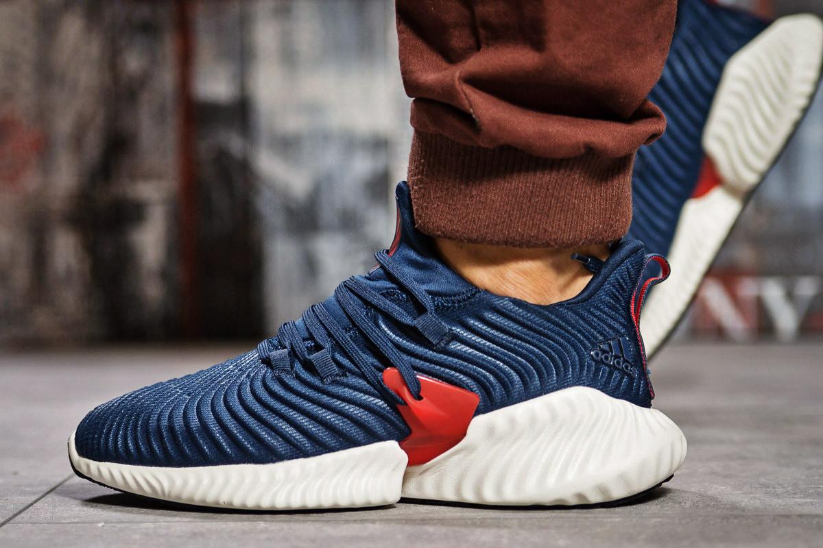 Кроссовки мужские Adidas AlphaBounce Instinct, темно-синие (15411) размеры в наличии ► [  42 43 44 45  ]