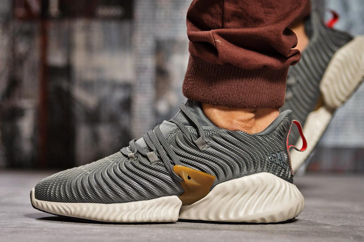 Кроссовки мужские Adidas AlphaBounce Instinct, серые (15412) размеры в наличии ► [  43 (последняя пара)  ]