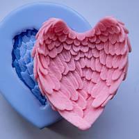 Форма силиконовая Крылья 3D Люкс