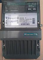 Счетчик трехфазный Меркурий 230 AR-02 активно-реактивный прямого включения однотарифный