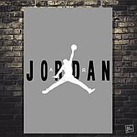 Постер Майкл Джордан, Michael Jordan. Размер 60x43см (A2). Глянцевая бумага