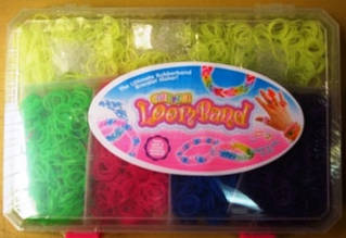 Набір гумок для плетіння браслетів у валізці