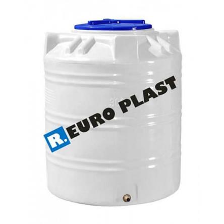 Емкость вертикальная  RV 1000   Roto Europlast (1-слойная), фото 2