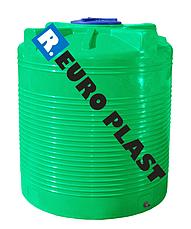 Емкость вертикальная  RV 1000   Roto Europlast (1-слойная), фото 3