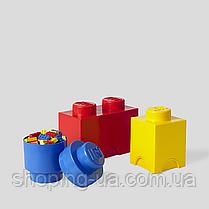 Одноточечный фиолетовый контейнер для хранения Lego 40011743, фото 3