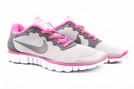 Кроссовки Nike текстиль, цвет серый