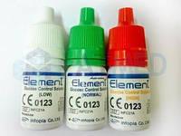 Набор контрольных растворов глюкозы Element