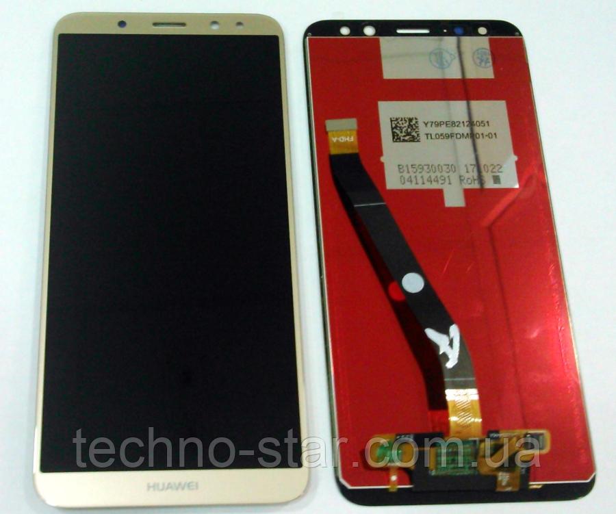 Оригинальный дисплей (модуль) + тачскрин (сенсор) Huawei Mate 10 Lite Nova 2i Maimang 6 Honor 9i G10 (золотой)