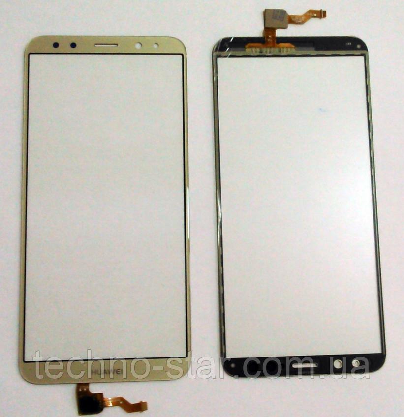 Оригинальный тачскрин / сенсор (сенсорное стекло) Huawei Mate 10 Lite Nova 2i Maimang 6 Honor 9i G10 (золотой)