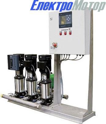 Станции повышения давления Grundfos Hydro МРС: CR (E) 15-2 — CR (E) 15-10 с 2 насосами