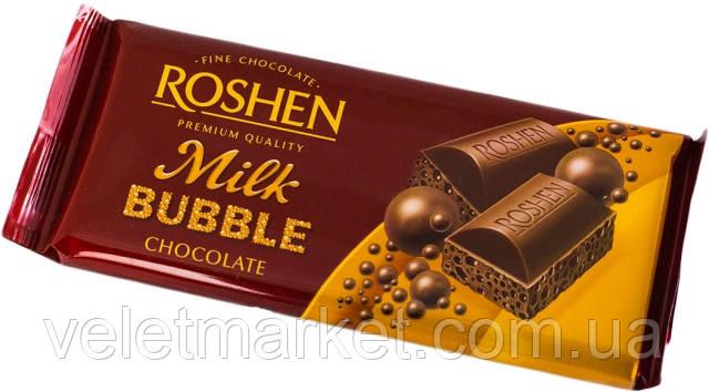 Шоколад Roshen пористый молочный 85 г