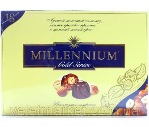 Конфеты в коробке Millenium Gold в молочном шоколаде 205 г