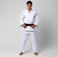 Кимоно для дзюдо Mizuno Hayato 140 см Белый (5054698607084)