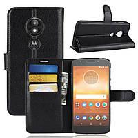 Чехол-книжка Litchie Wallet для Motorola Moto E5 Play XT1921 Черный