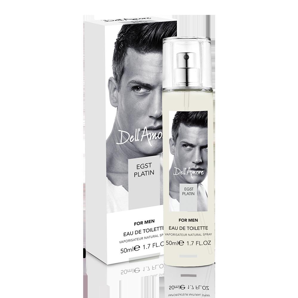 Чоловіча туалетнаводаFon Cosmetics Dell'Amore Egst Platin50 мл (3541002)