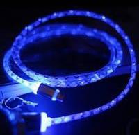 Led кабель для USB зарядки (светодиодный шнур)