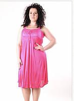 Женская сорочка с кружевом, фото 1