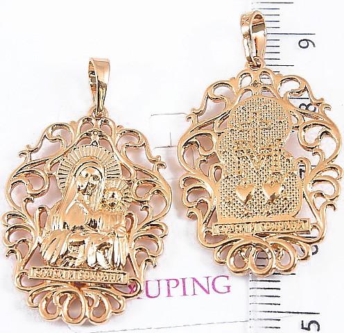 Ладанка Xuping Божья матерь с младенцем 3.6см л337