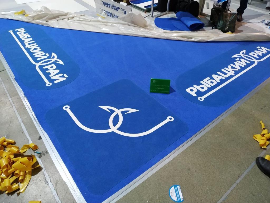 Изготовление ковров с логотипом!