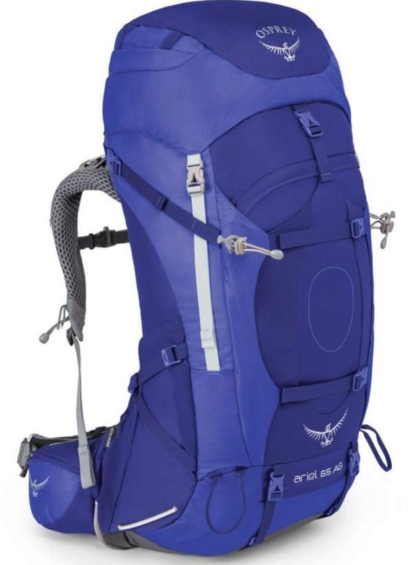 Рюкзак Osprey Ariel AG 65 Tidal Blue - WS 009.1522 на 62 л, синий