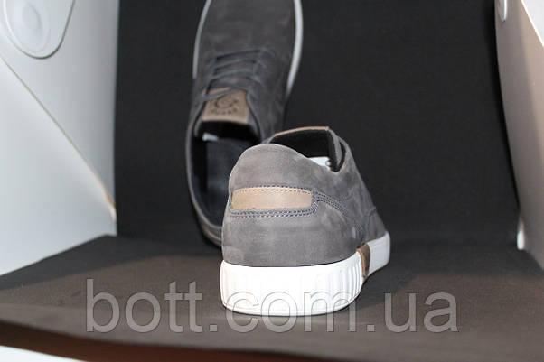 Кеды серые кожаные , фото 2