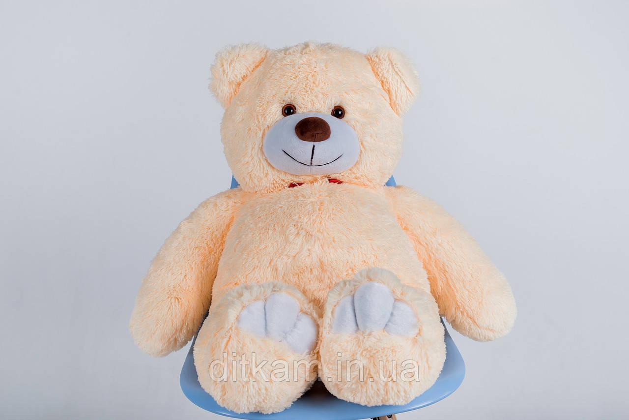 Мягкая игрушка Медведь Джон (110см)Персиковый