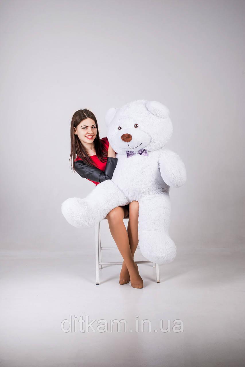 Мягкая игрушка Медведь Бенжамин (135см)Белый