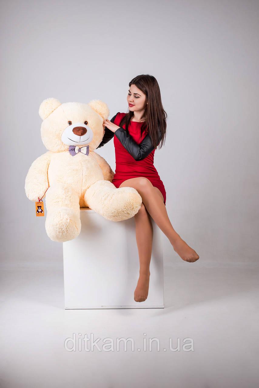 Мягкая игрушка Медведь Бенжамин (135см)Персиковый