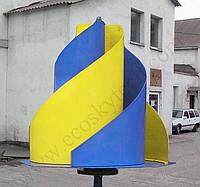 Вертикальний вітрогенератор Бриз мк3, фото 1