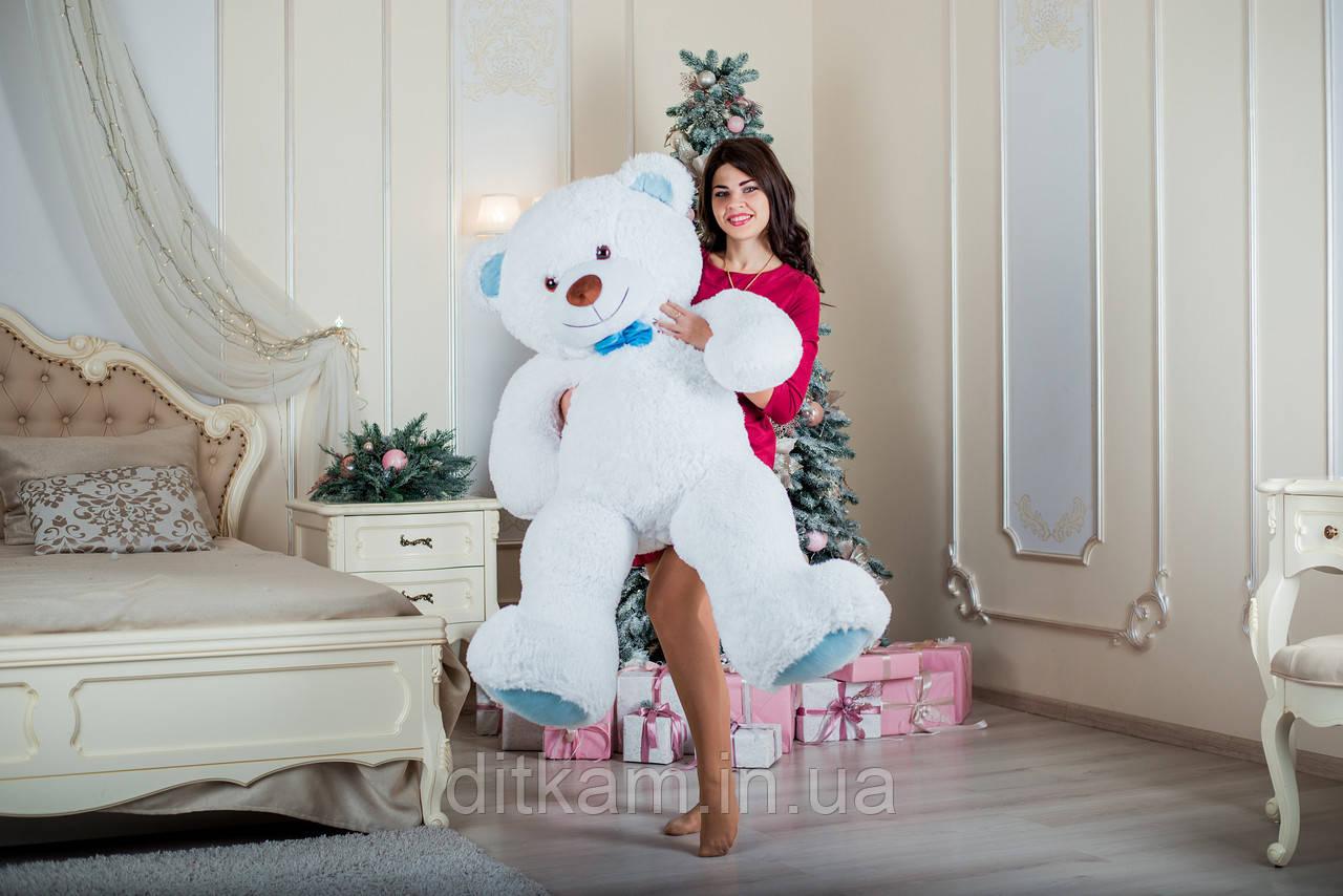 Мягкая игрушка Медведь Билли (150см)Белый