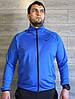Спортивный костюм мужской Nike электрик (синий), черный Турция реплика, фото 5