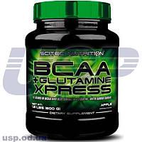 Scitec Nutrition BCAA + Glutamine Xpress БЦАА аминоксилоты глютамин для роста мыш спортивное питание