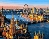 """Картина по номерам """"Лондон. Вид на Темзу"""" VP1089"""