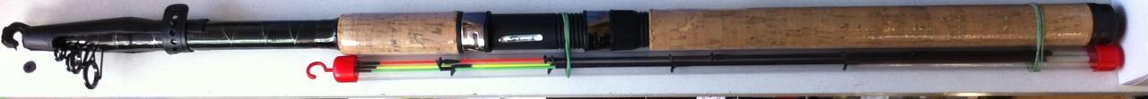 Спиннинг фидерный телескоп  DUNCAN 3.3m. 50-150 гр