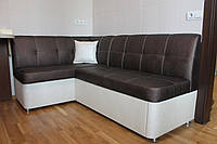 Мягкий уголок со спальным местом для кухни (Бронзовый)