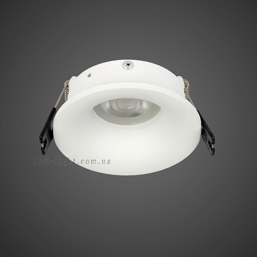 Точечный врезной светильник   905-8804 WH
