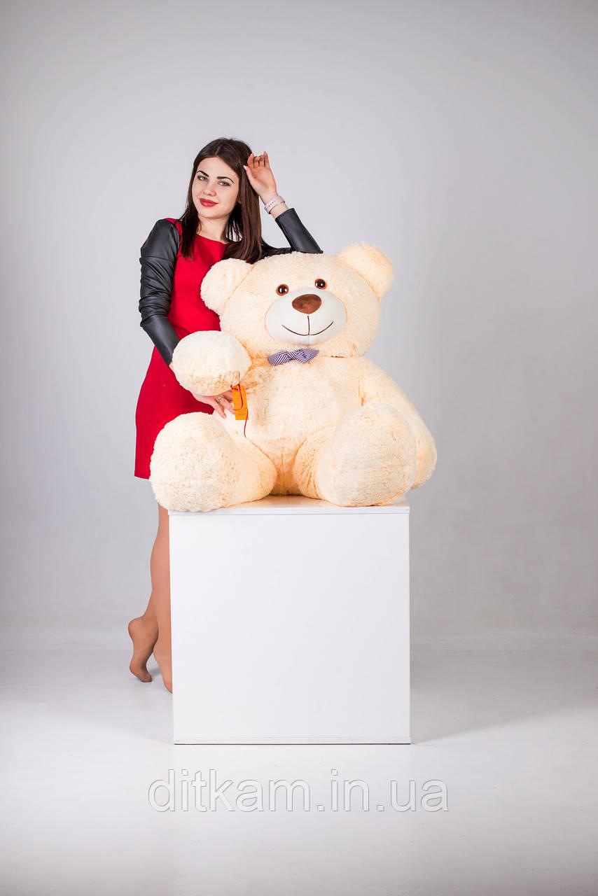 Мягкая игрушка Медведь Билли (150см)Персиковый
