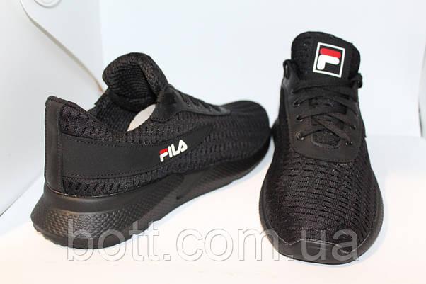 Кроссовки сетка черная , фото 3