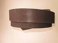 Ременная полоса из кожи хромового дубления КРАСТ 10 мм, толщина 3,6 - 4,0 мм (УКРАИНА)