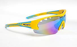 Велосипедні окуляри Lynx Detroit UKR