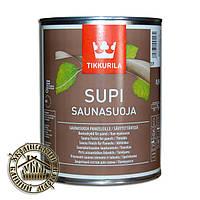 Супи Саунасуоя 0,9 л, пропитка для стен и потолка в бане.