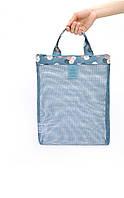 Пляжна сумка, жіноча блакитна пляжна сумка, сумка для пляжу 2021 СС-4557-20