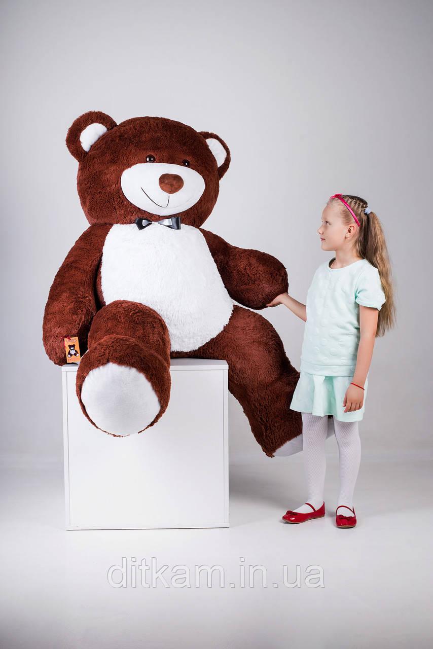 Мягкая игрушка Медведь Ричард (200см)Шоколадный