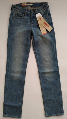 Джинсы женские Levi's 714 Straight/W23xL30/Mid Rise/Slim trough/Hip and thigh/Оригинал, фото 2