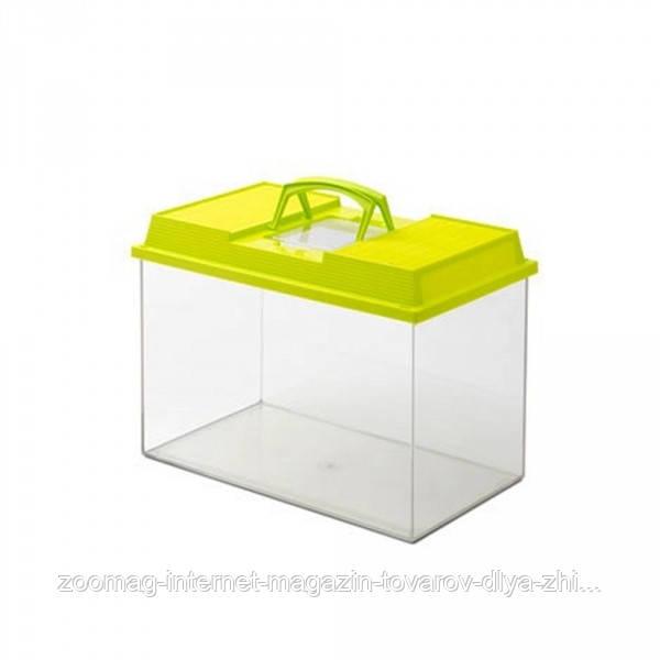 Savic Fauna Box пластиковый террариум, аквариум, переноска для грызунов (6 л/27*17*18 см)
