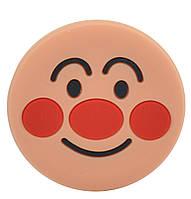 Попсокет Popsocket (Держатель для телефона) Unipha ART610 3D Смайлик Крем (299424)