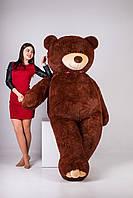 Мягкая игрушка Медведь Уильям (250см)Шоколадный