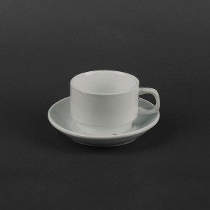 Набор для капучино Helios Чашка 200 мл + блюдце (HR1301)